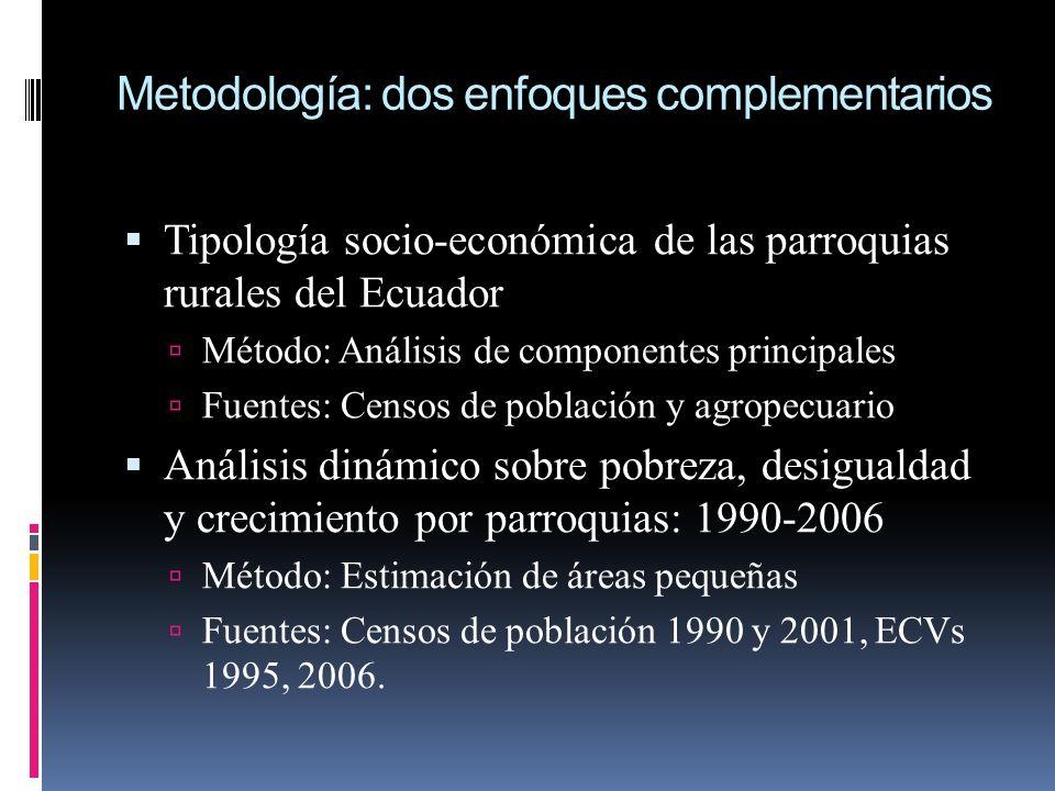 Metodología: dos enfoques complementarios