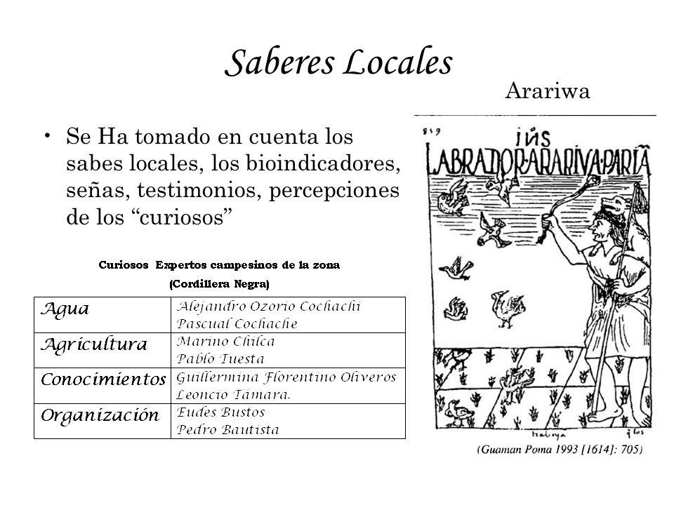 Saberes Locales Arariwa