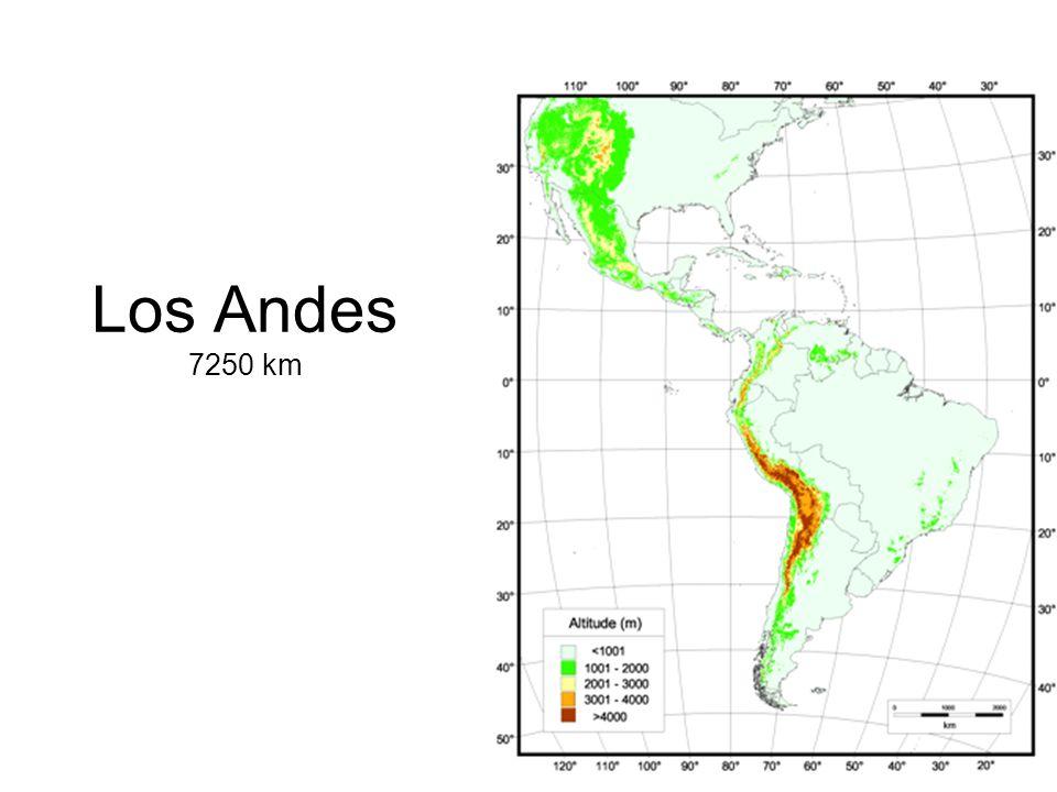 Los Andes 7250 km