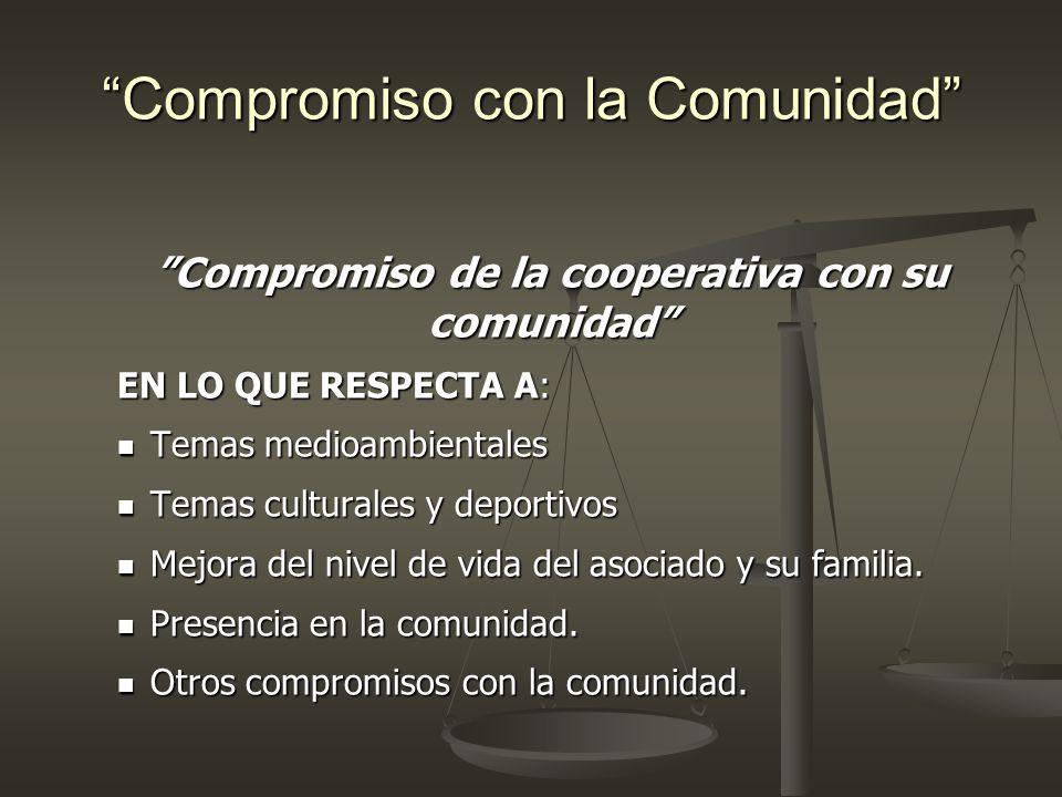 Compromiso con la Comunidad