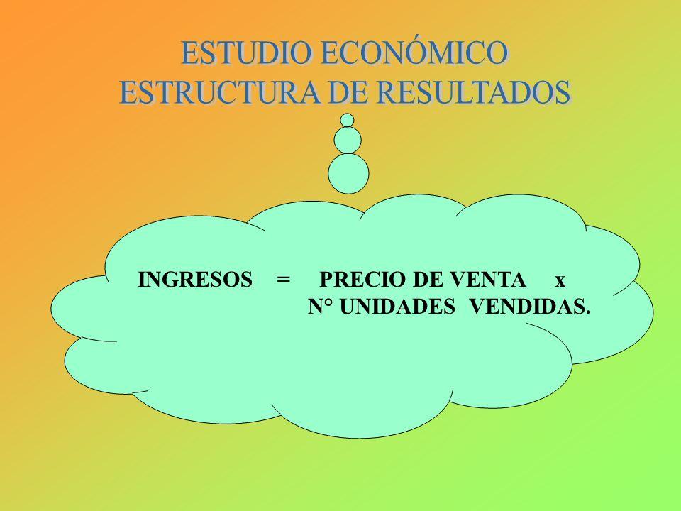 ESTRUCTURA DE RESULTADOS