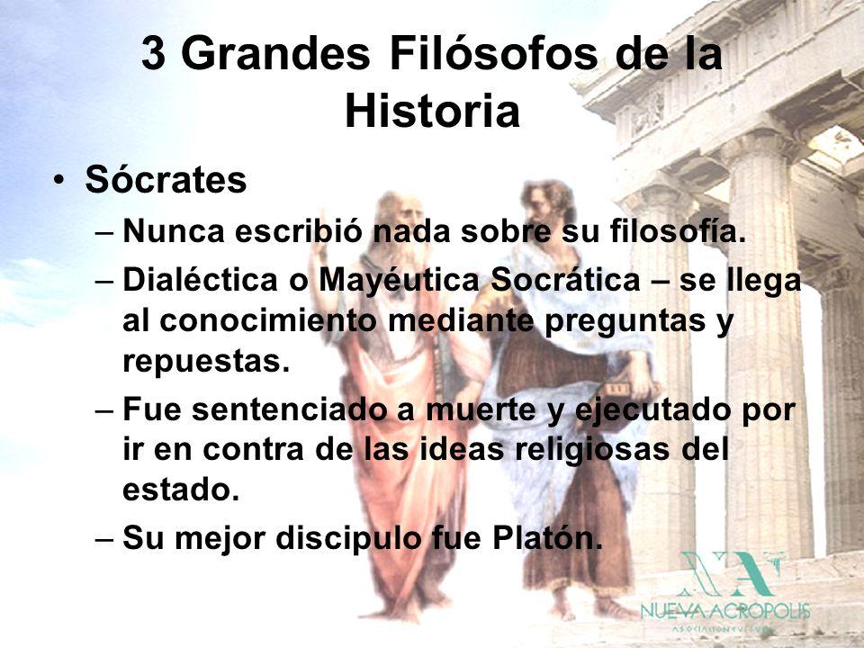 3 Grandes Filósofos de la Historia