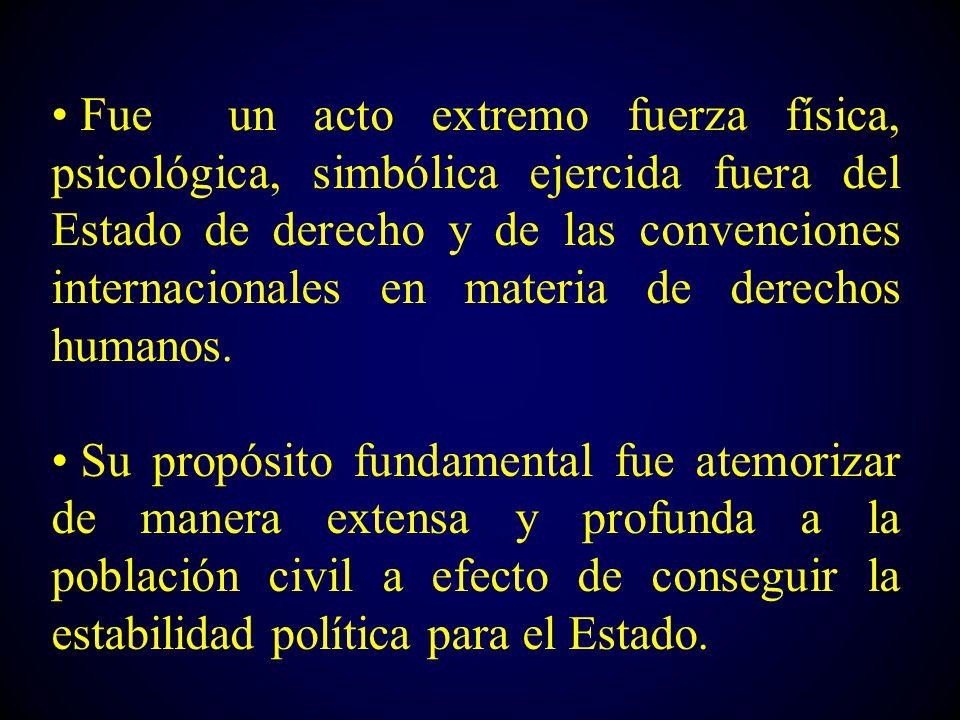 conferencia genocidio y terrorismo de estado en guatemala