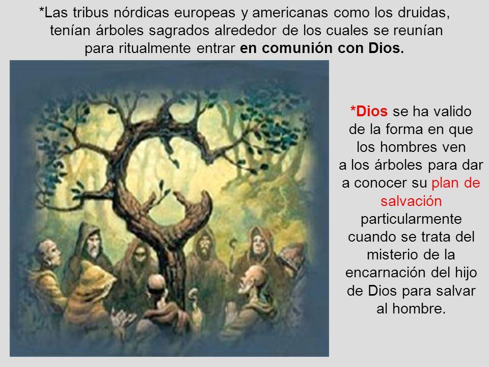 *Las tribus nórdicas europeas y americanas como los druidas,