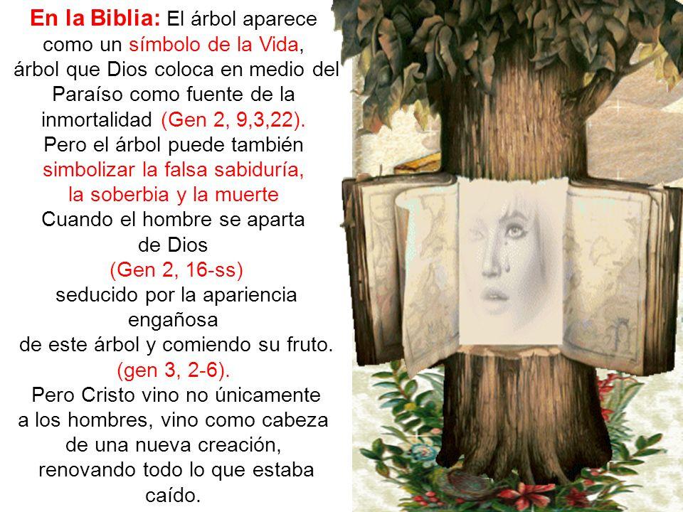 En la Biblia: El árbol aparece