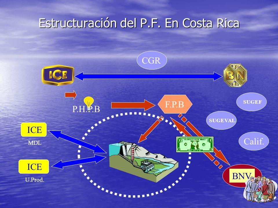 Estructuración del P.F. En Costa Rica