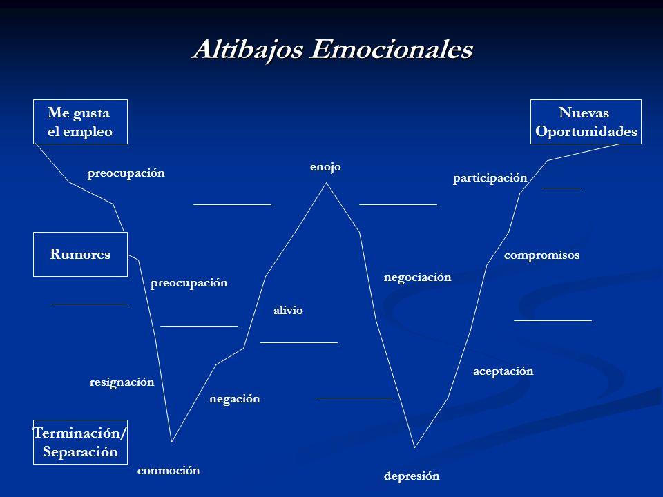 Altibajos Emocionales