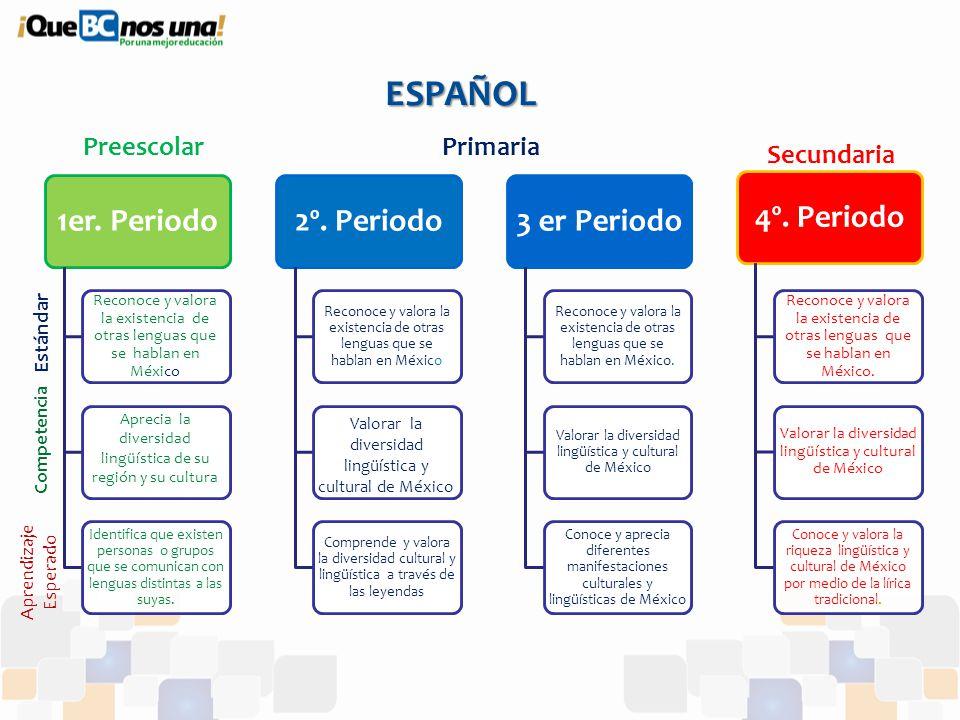 El plan de estudios 2011 desde los est ndares curriculares for Estandares para preescolar