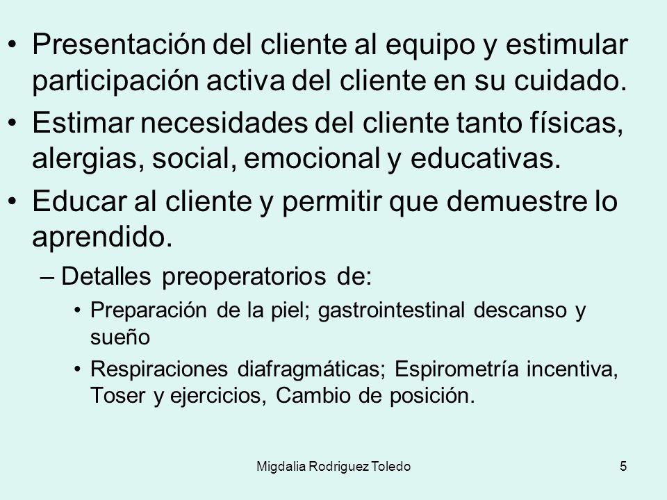 Migdalia Rodriguez Toledo