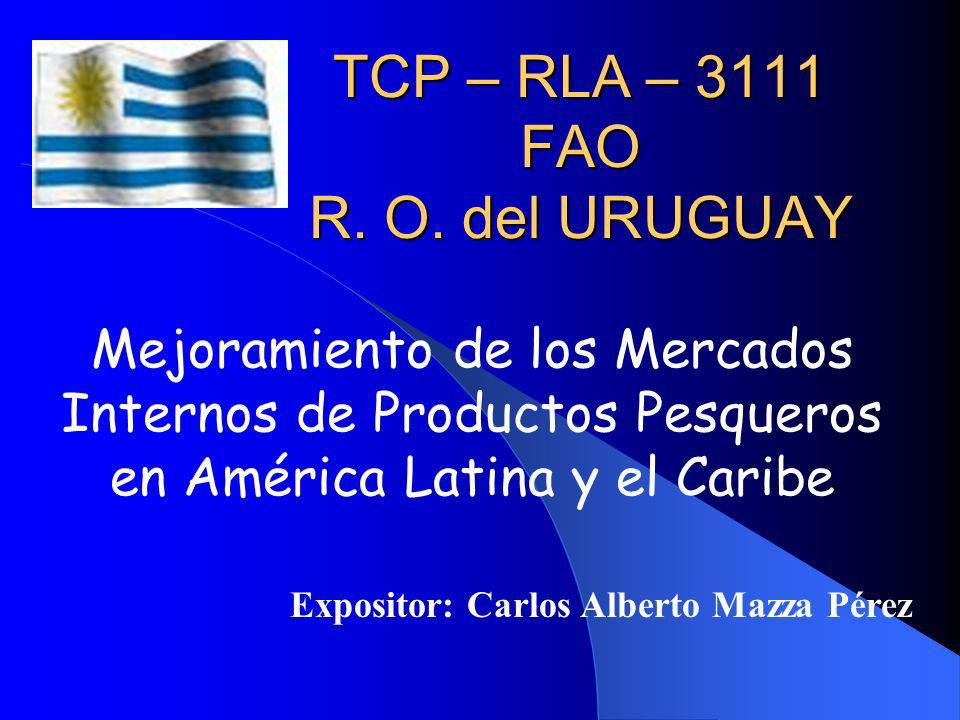 TCP – RLA – 3111 FAO R. O. del URUGUAY
