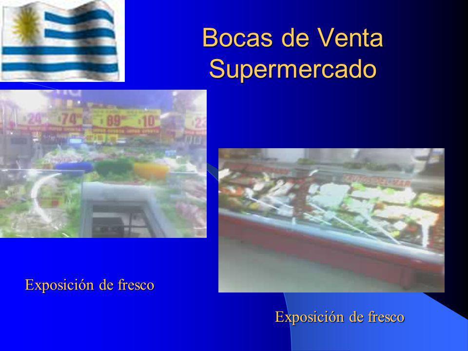 Bocas de Venta Supermercado