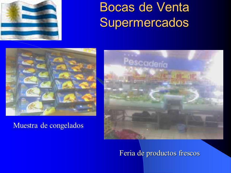 Bocas de Venta Supermercados
