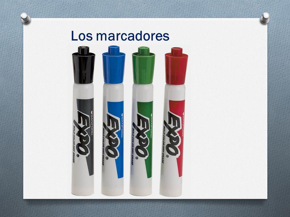 Los marcadores