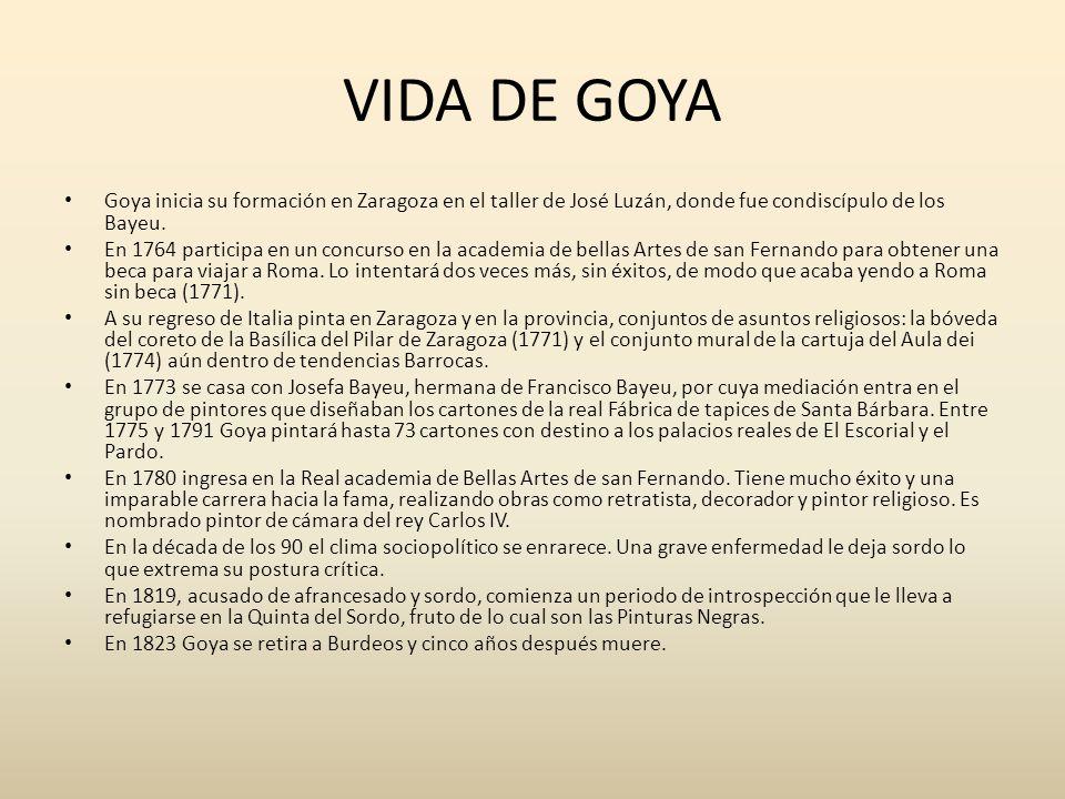 Goya ppt descargar - A casa do retratista ...