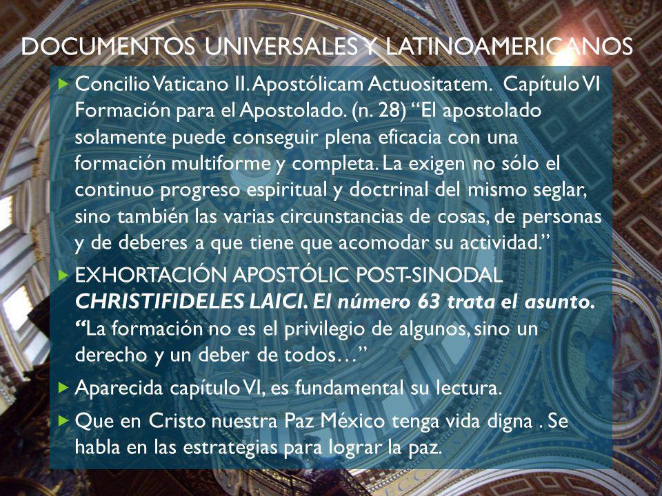 Documentos universales y latinoamericanos