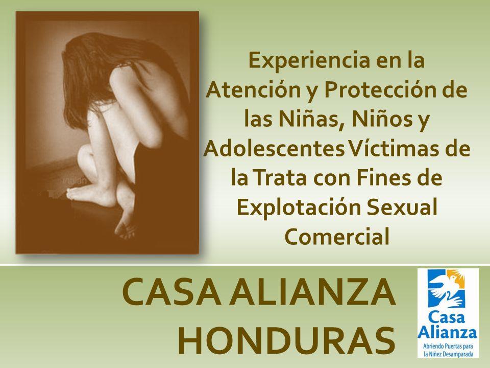 Experiencia en la Atención y Protección de las Niñas, Niños y Adolescentes Víctimas de la Trata con Fines de Explotación Sexual Comercial