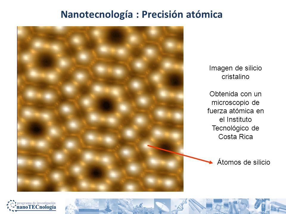 Nanotecnología : Precisión atómica