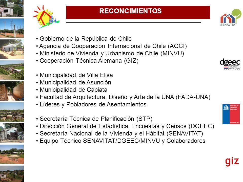 RECONCIMIENTOS Gobierno de la República de Chile