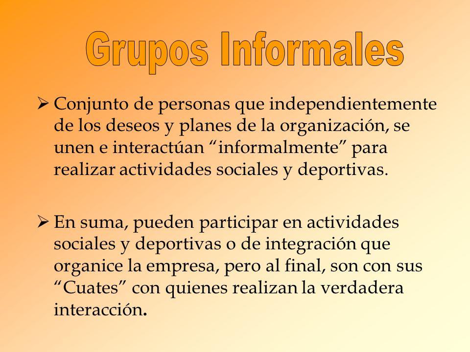 Grupos Informales