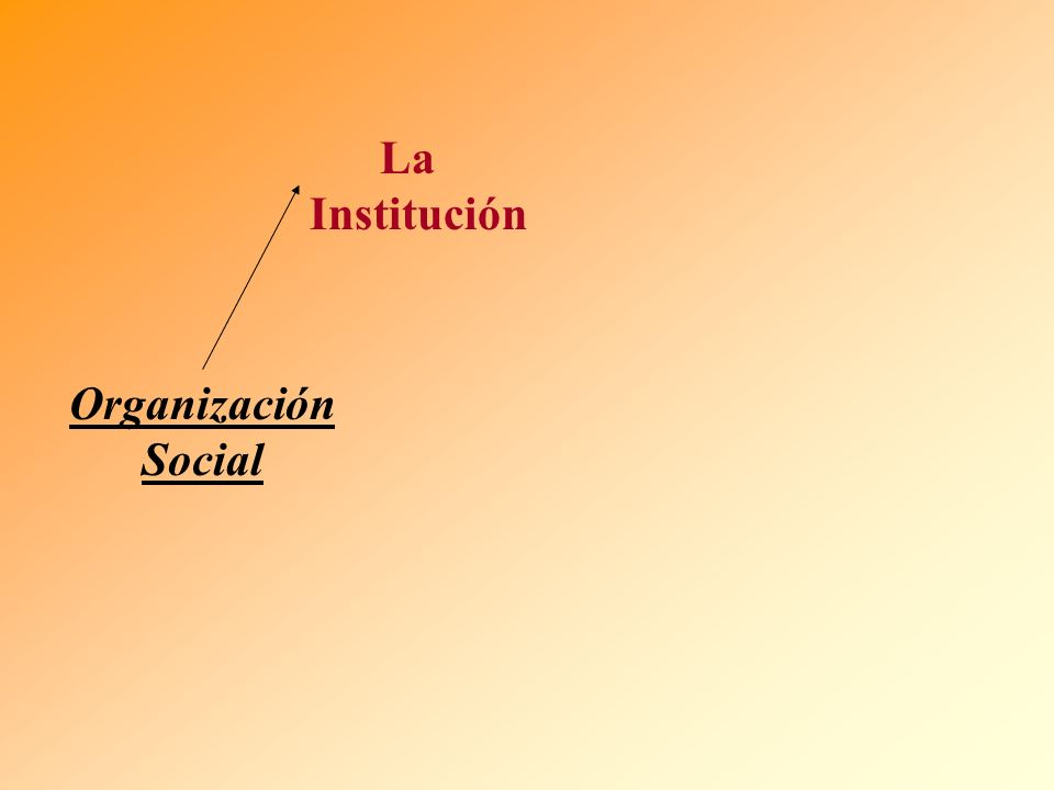 La Institución Organización Social