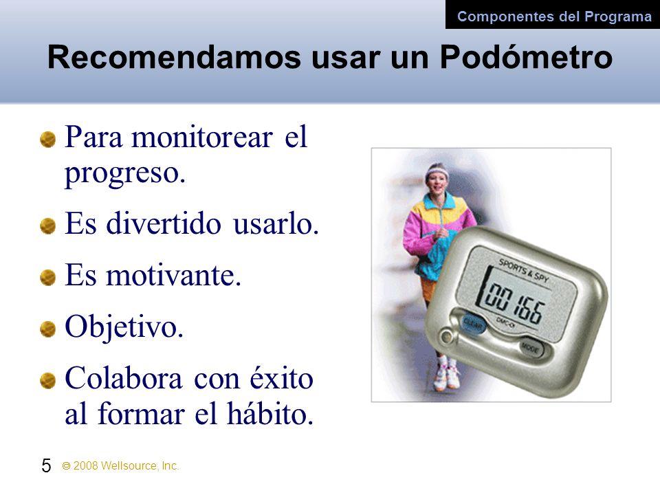 Recomendamos usar un Podómetro