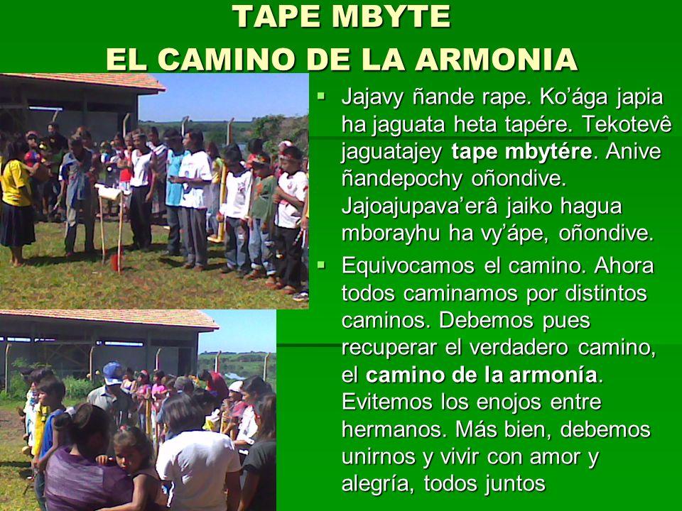 TAPE MBYTE EL CAMINO DE LA ARMONIA