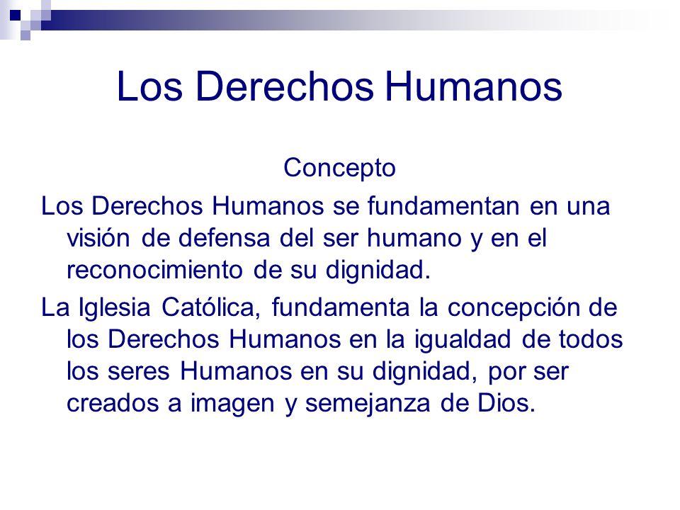 Los Derechos Humanos Concepto
