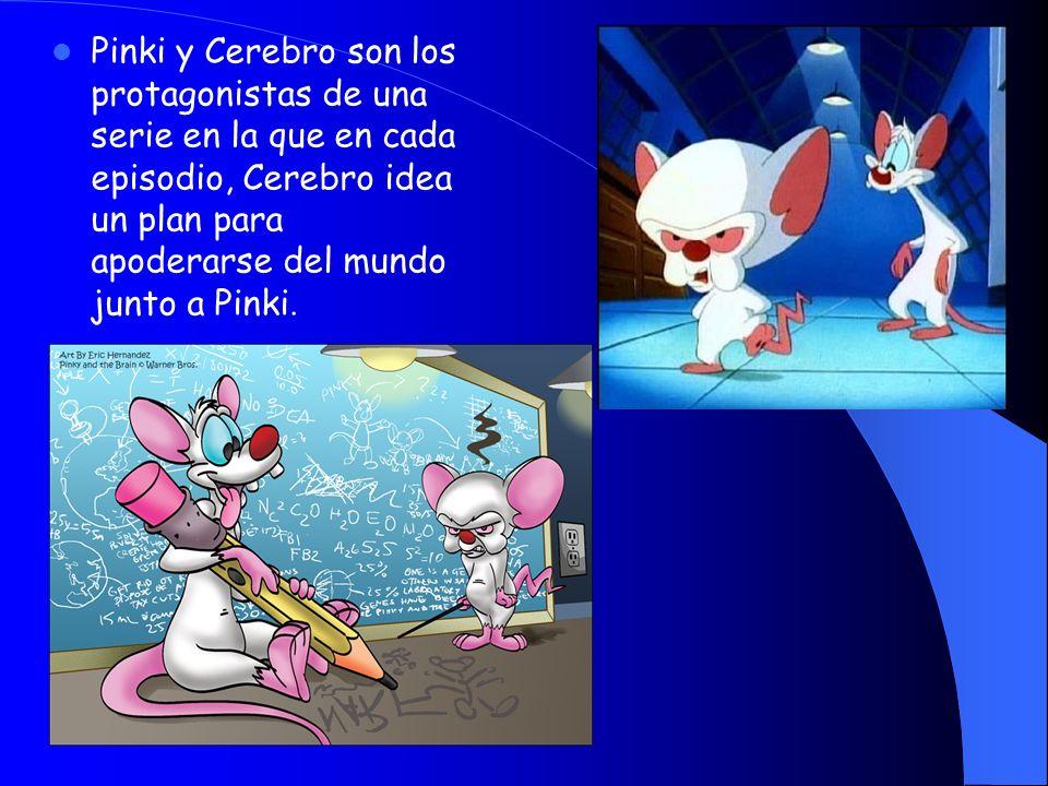 Pinki y Cerebro son los protagonistas de una serie en la que en cada episodio, Cerebro idea un plan para apoderarse del mundo junto a Pinki.