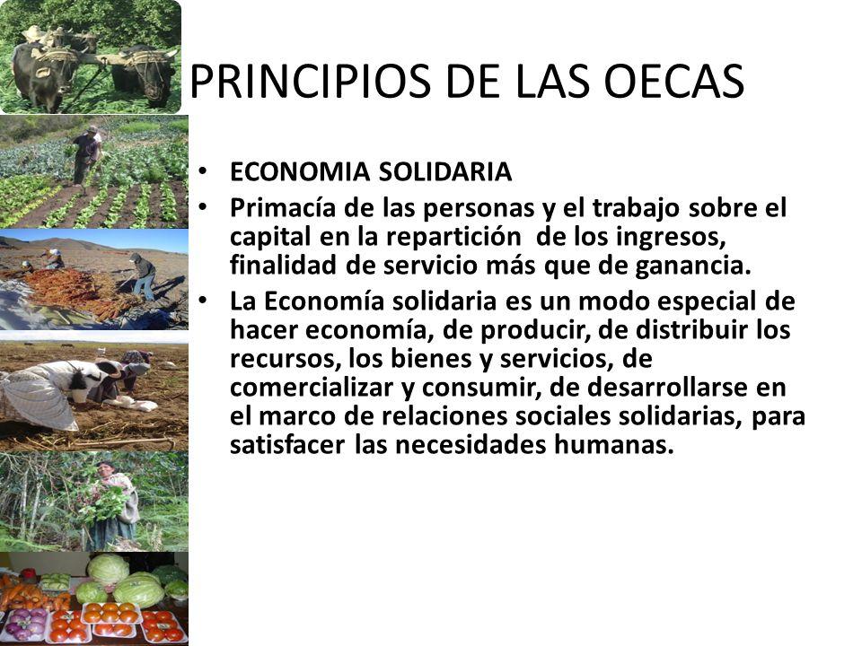 PRINCIPIOS DE LAS OECAS