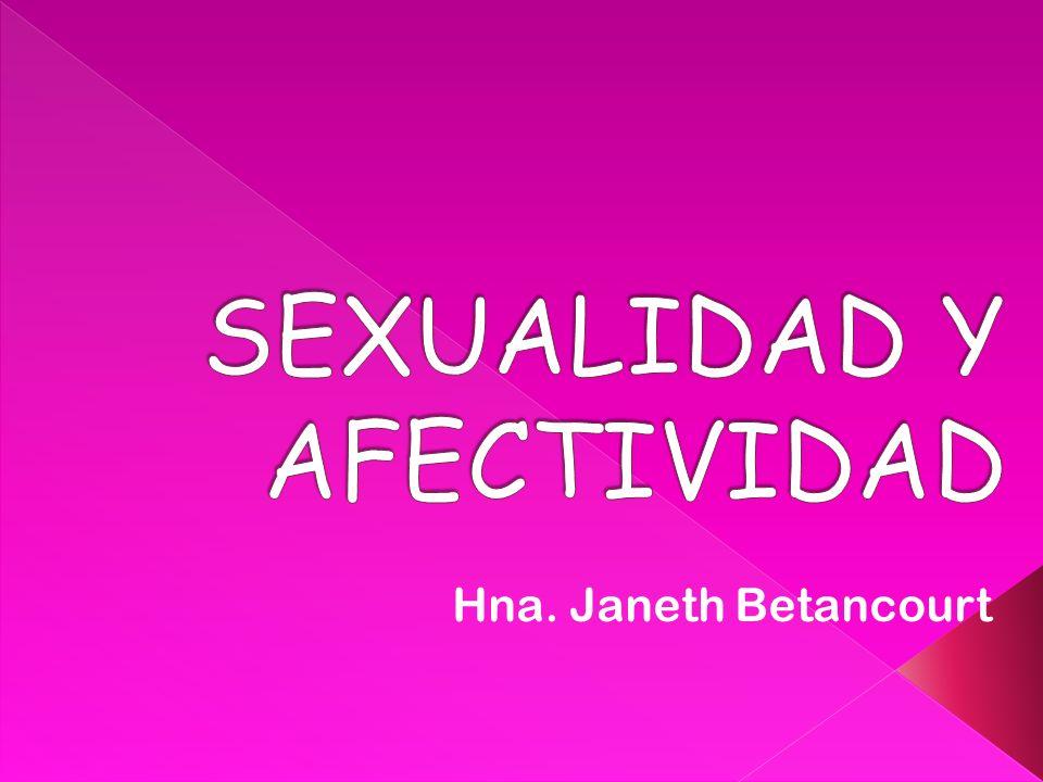 SEXUALIDAD Y AFECTIVIDAD