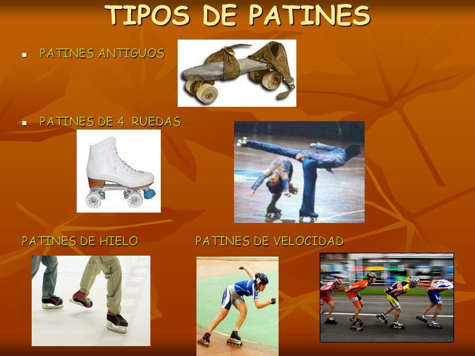 TIPOS DE PATINES PATINES ANTIGUOS PATINES DE 4 RUEDAS