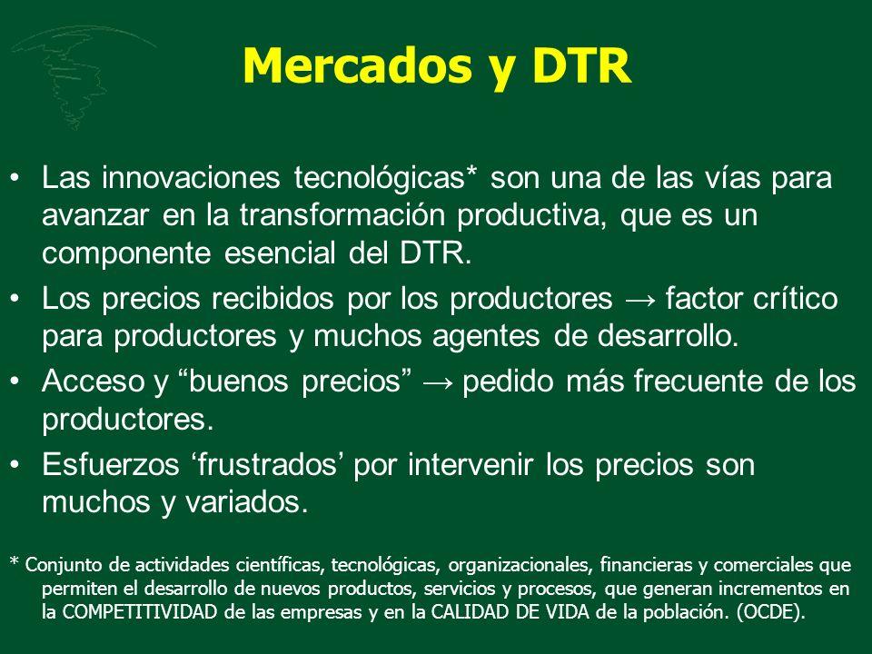 Mercados y DTR