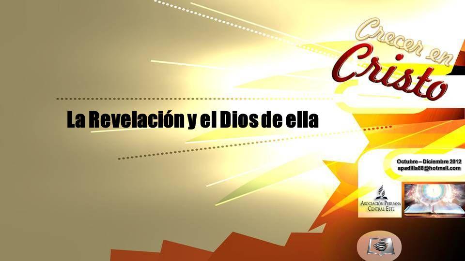 La Revelación y el Dios de ella