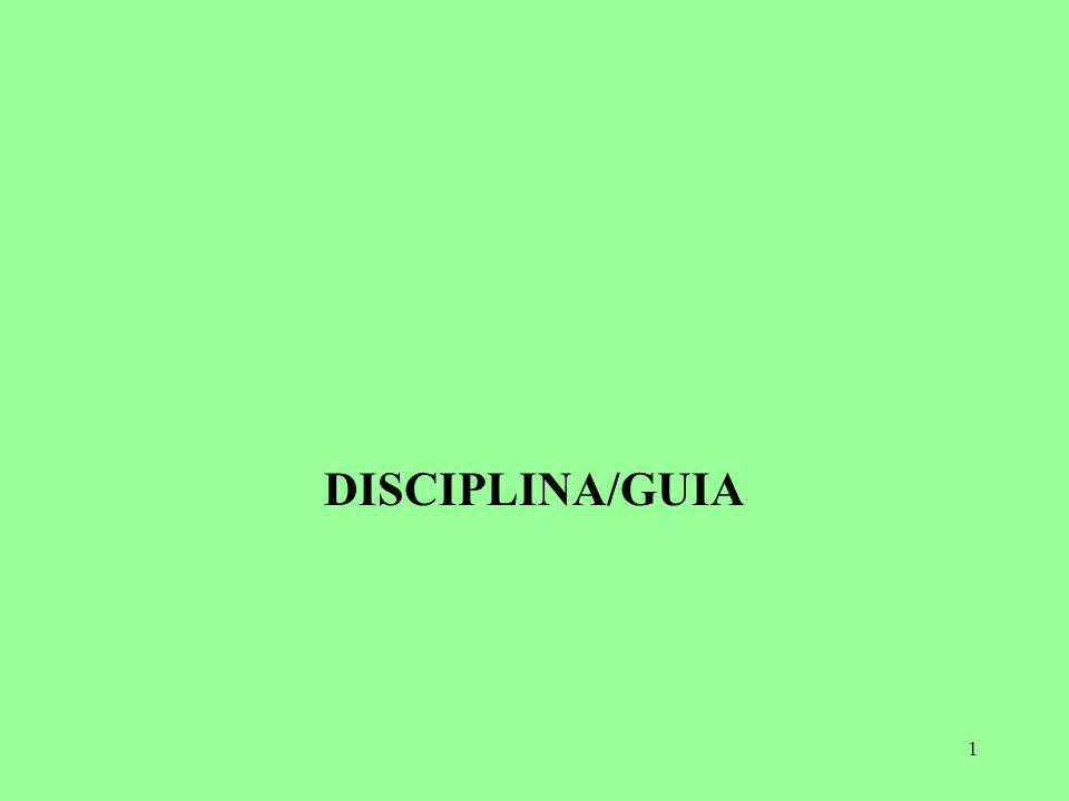 DISCIPLINA/GUIA