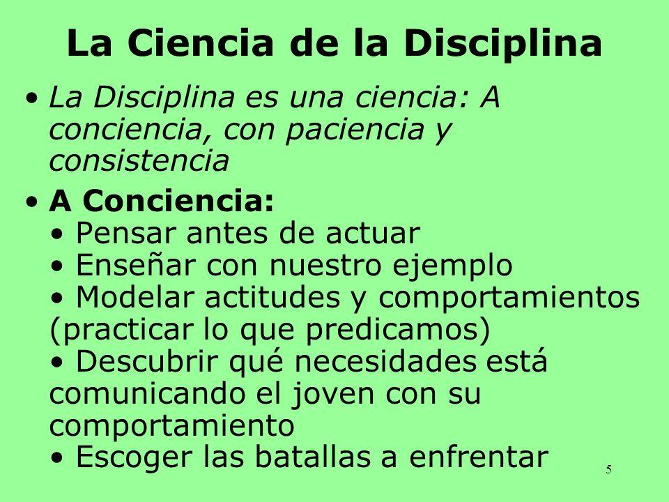 La Ciencia de la Disciplina