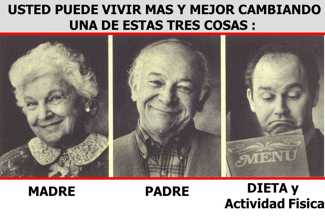 USTED PUEDE VIVIR MAS Y MEJOR CAMBIANDO UNA DE ESTAS TRES COSAS :