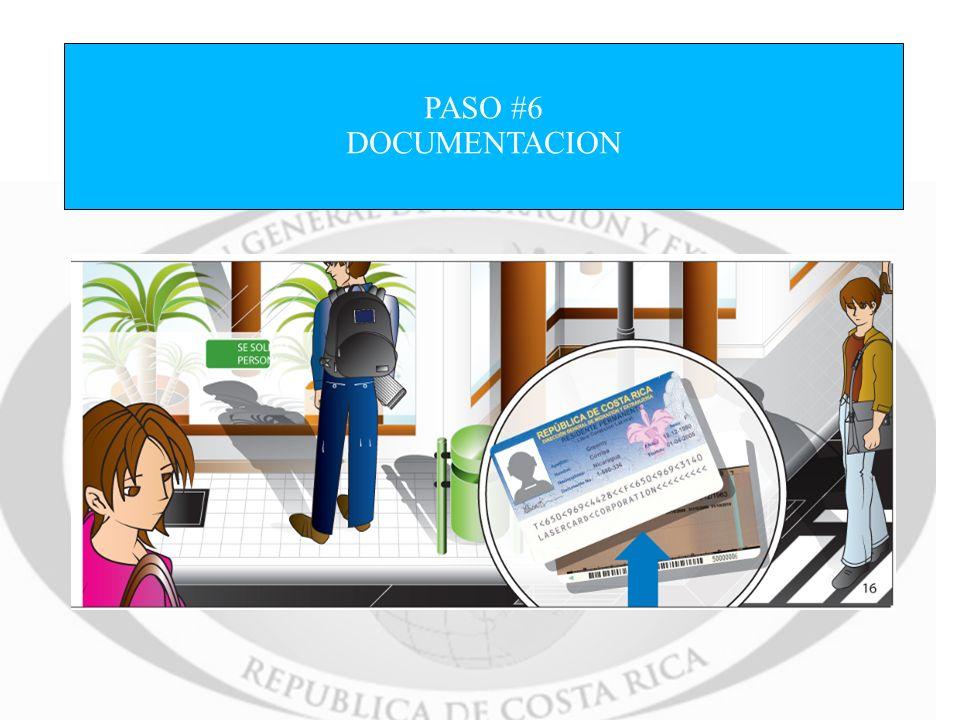 PASO #6 DOCUMENTACION