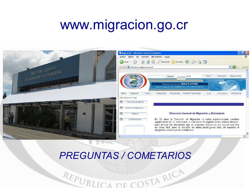 PREGUNTAS / COMETARIOS