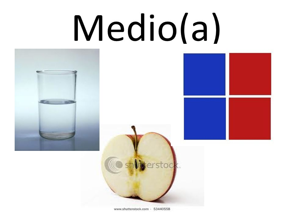 Medio(a)