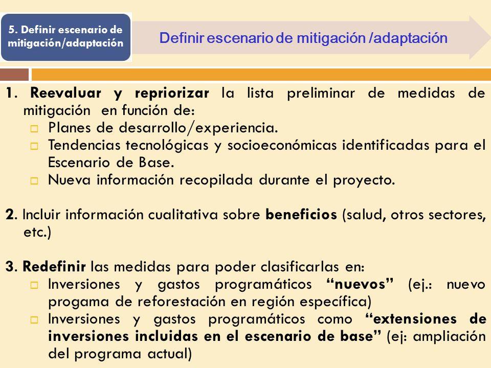 Planes de desarrollo/experiencia.