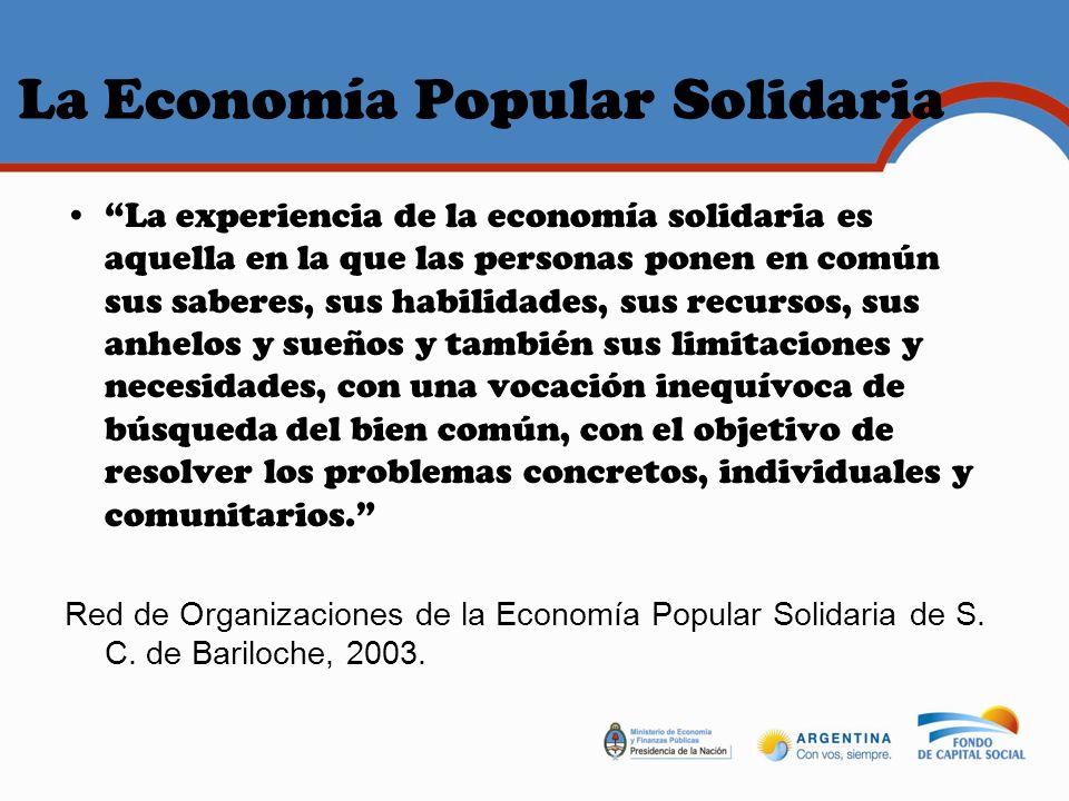 La Economía Popular Solidaria