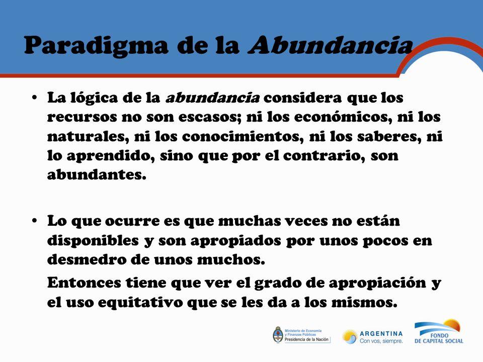 Paradigma de la Abundancia