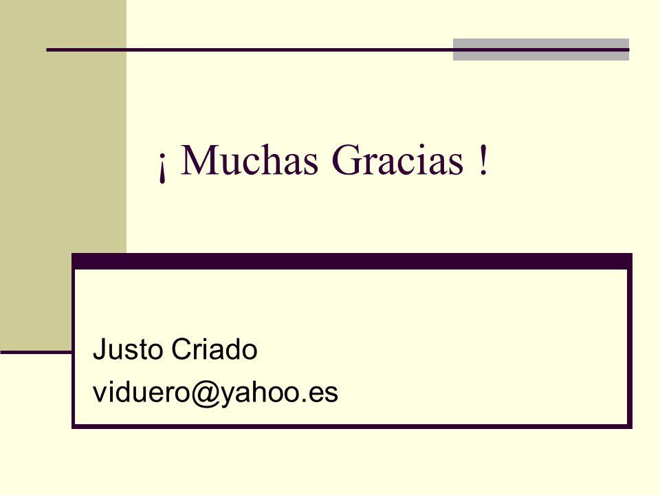 Justo Criado viduero@yahoo.es