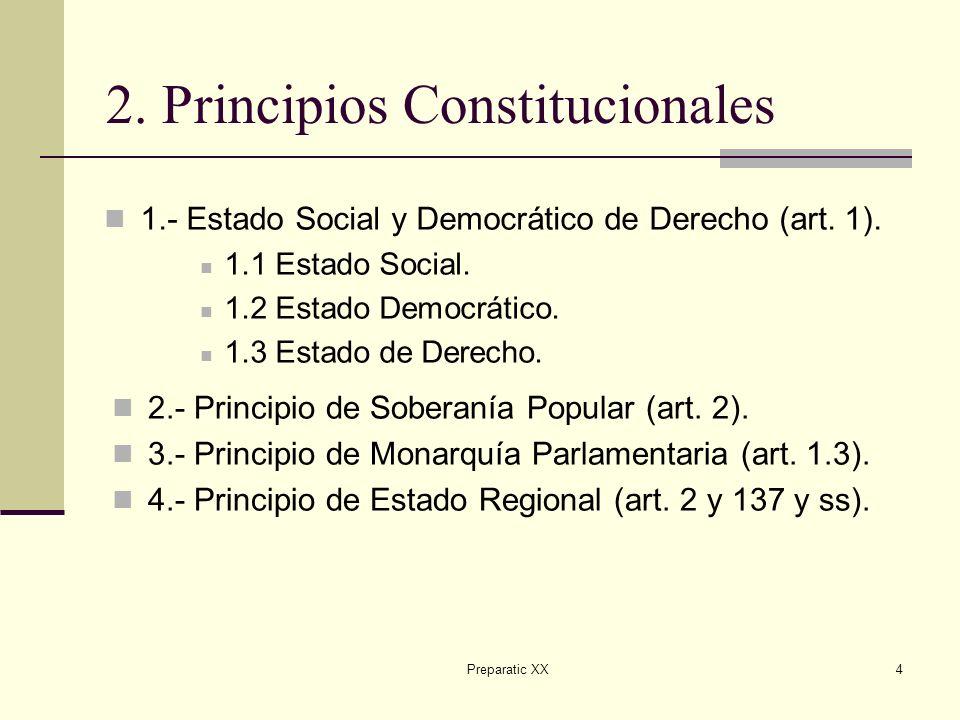 2. Principios Constitucionales