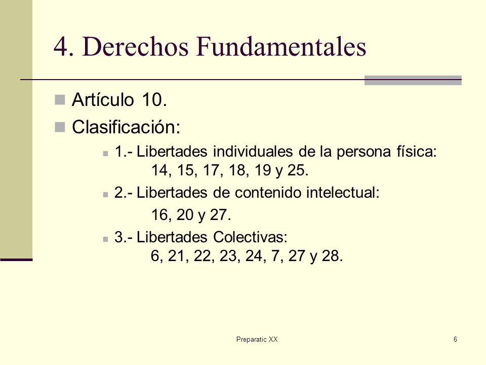 4. Derechos Fundamentales