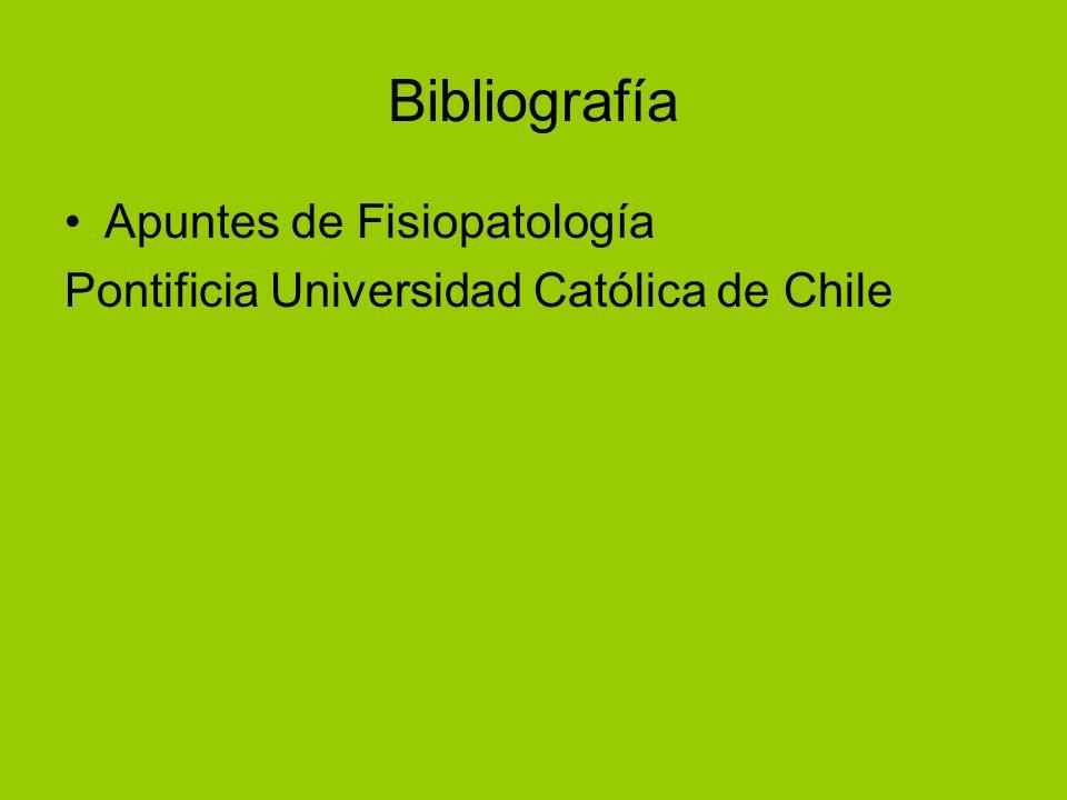 Bibliografía Apuntes de Fisiopatología