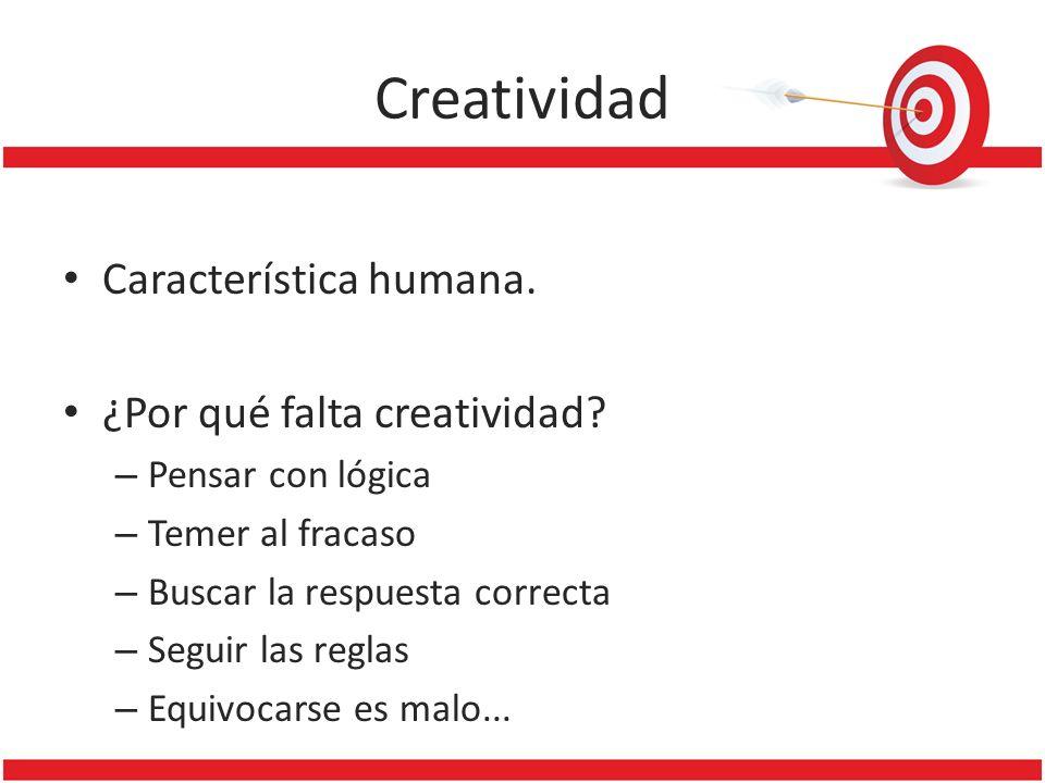 Creatividad Característica humana. ¿Por qué falta creatividad