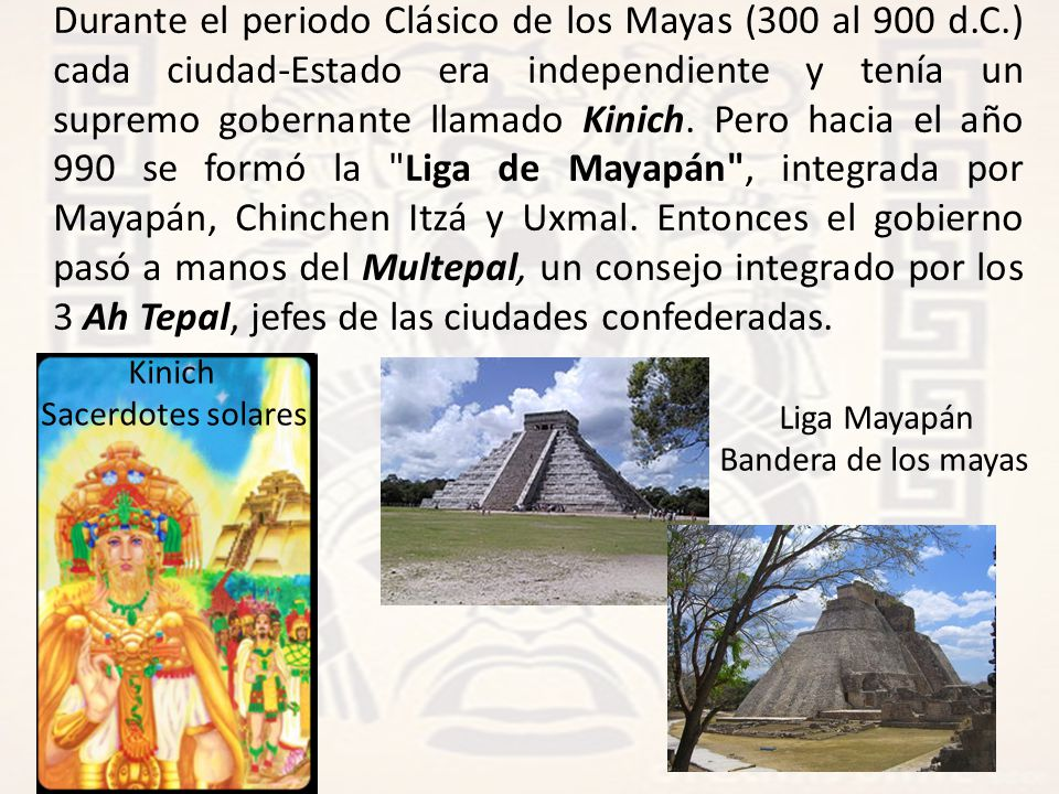 Durante el periodo Clásico de los Mayas (300 al 900 d. C