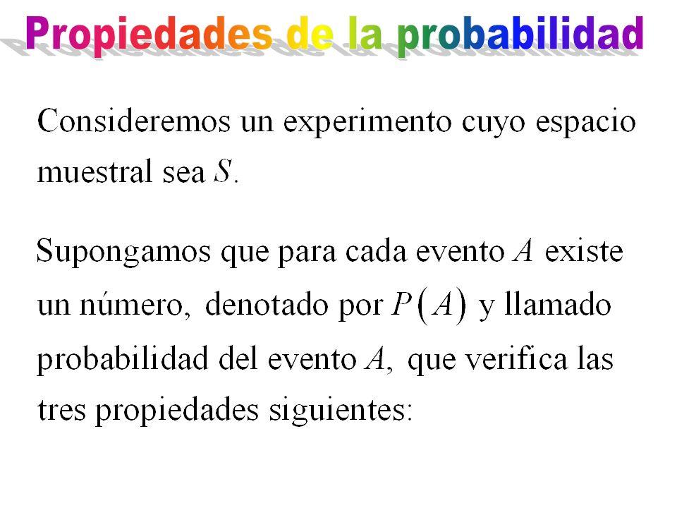 Propiedades de la probabilidad