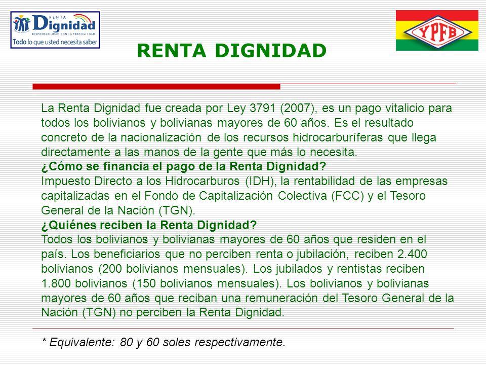 RENTA DIGNIDAD